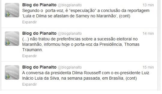 NOTA Planalto