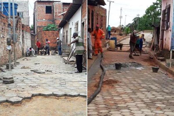 Cerca de 18 ruas do bairro do Coroadinho já receberam recapeamento asfaltico