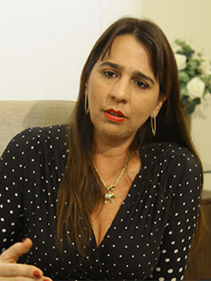 Promotora do Consumidor Lítia Cavalcanti