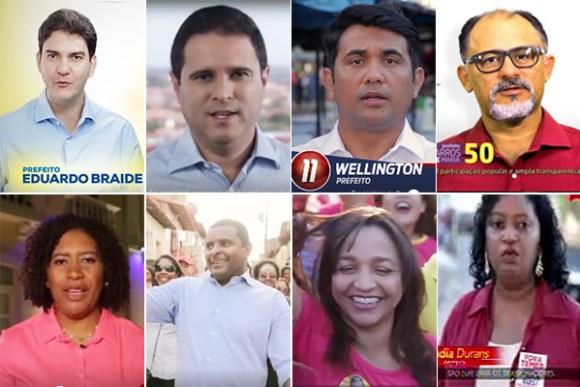 Oito dos nove candidatos à Prefeitura de São Luís participaram do primeiro programa na TV