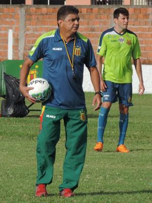 Técnico Flávio Araújo no Sampaio