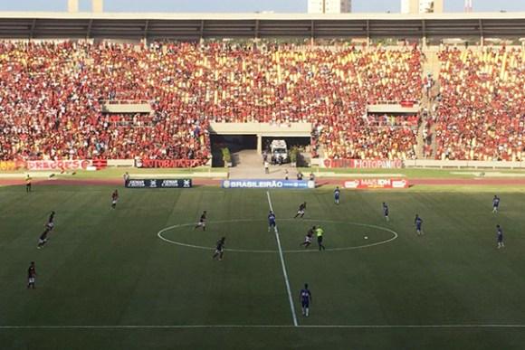 Moto empata com o Atlético-AC por 2 a 2, pelo mata-mata da Série D, em pleno Estádio Castelào