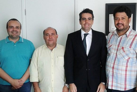 Deputado Adriano Sarney declara apoio a pré-candidatura de Raimundo Filho