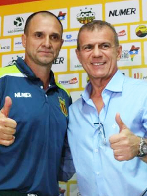 Wagner Lopes e Sérgio Frota