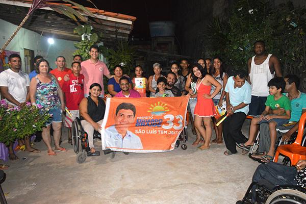 Eduardo Braide reafirma política de inclusão para pessoas com deficiência em reunião