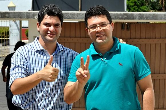 Candidados Francisco Nagibe (Prefeito) e Ricardo Torres (vice) lideram disputa em Codó