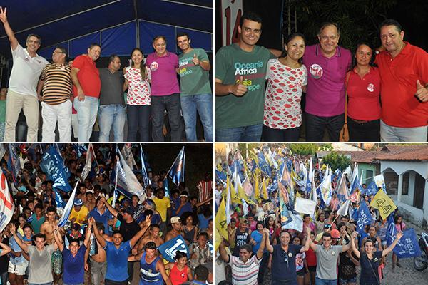 Glalbert Cutrim faz campanha em Arari e Matinha