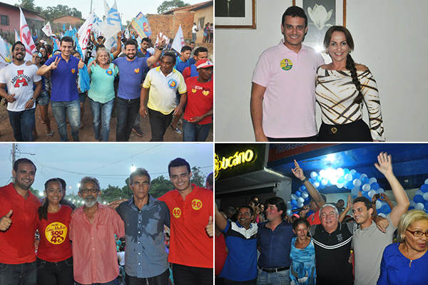 Glalbert visitou São Matheus, Bom Jesus das Selvas, Vila Nova dos Martírios e Olinda Nova do Maranhão,