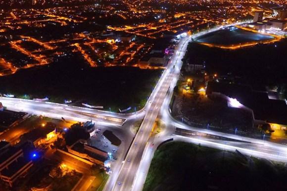 A iluminação pública de São Luís ganhou 4 mil pontos de LED em áreas de grande fluxo