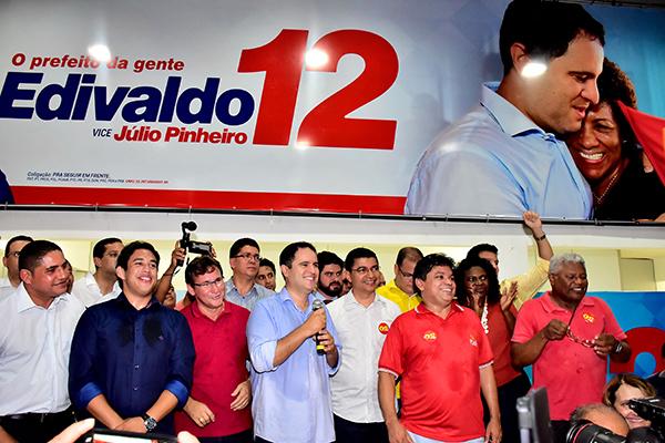 Edivaldo reúne lideranças políticas na Grande Plenária São Luís é 12