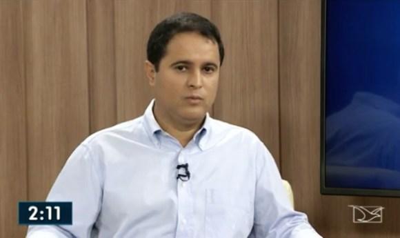 Prefeito Edivaldo Holanda Júnior foi entrevistado na TV Mirante