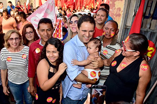 """""""Onda 12"""" invade Monte Castelo e empolga população de São Luís"""