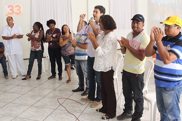 Eduardo Braide se reúne com representantes dos agentes comunitários de saúde