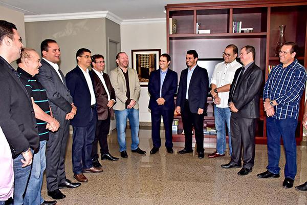 Prefeito Edivaldo visita Assembleia Legislativa e reforça bom relacionamento entre poderes