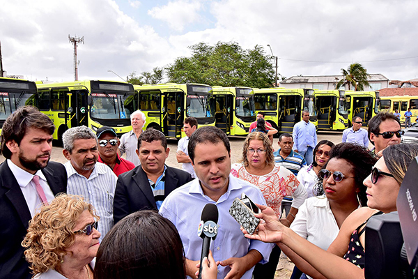 Renovação da frota atinge 60% e 500 novos ônibus já circulam em São Luís