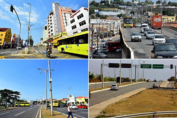 As câmeras de videomonitoramento já foram instaladas em quatro regiões de São Luís