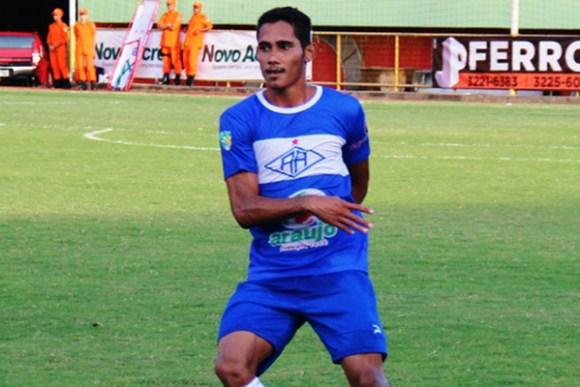 Atacante Rafael Barros marcou cinco gols com a camisa do Atlético-AC na Série D