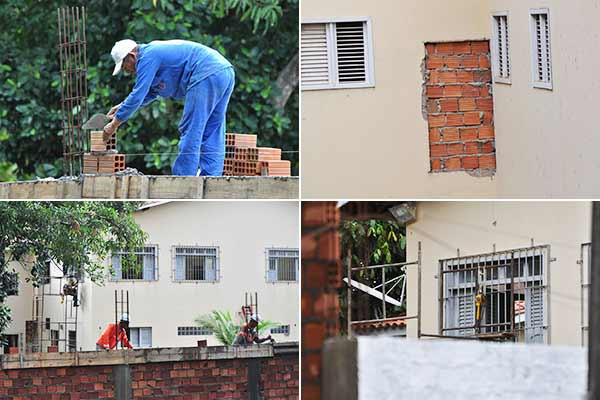 FUNAC faz ajustes no prédio antes de visita de deputada estadual Andrea Murad