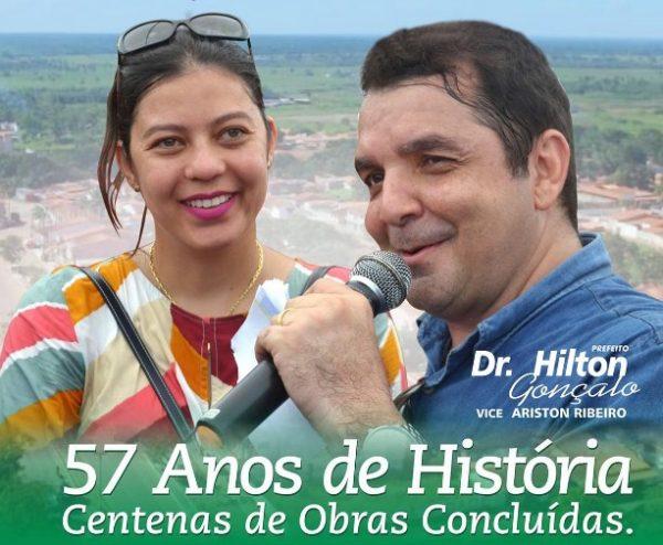 Hilton Entrega Obras Nos 57 Anos De Santa Rita Zeca Soares