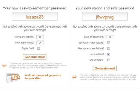 5 Websites to Create Strong and Easy to Remember Passwords