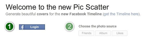 picscatter 5 Facebook Cover Photo Makers to make Timeline look More Appealing