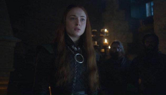 Sansa robe à plastron