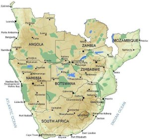 southern-africa-map