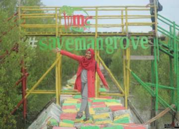 Mempawah Mangrove Park, Pesona Baru Wisata Kalimantan Barat