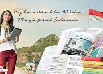 Perjalanan Astra dalam 60 Tahun Menginpirasi Indonesia