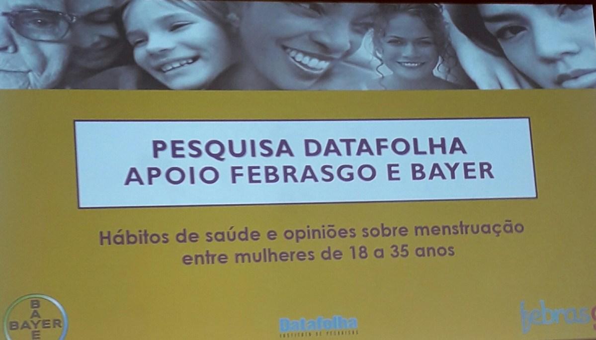 Bayer do Brasil faz evento de lançamento de pesquisa inédita e  contraceptivo que permite à mulher escolher quando menstruar!