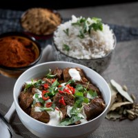 Slow Cooker Curry Lamb Rogan Josh