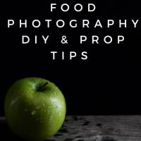 Dark Food Photography DIY & Prop Tips