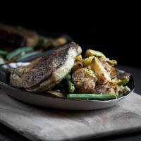 Curried Pork Chop and Potato Sheet Pan Recipe