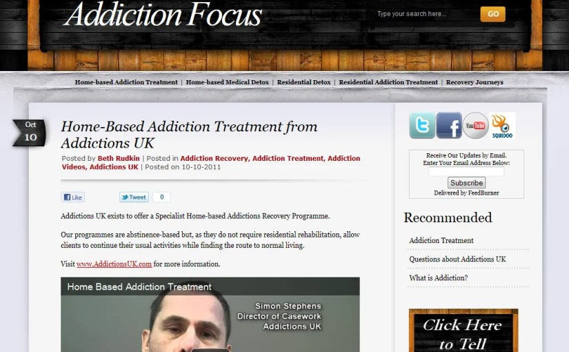 Client Spotlight: Addiction Focus