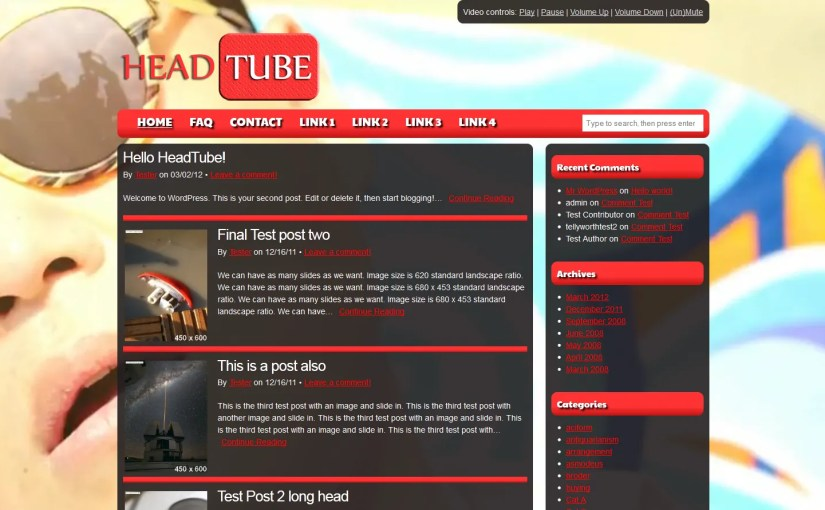 Headway Child Theme – HeadTube