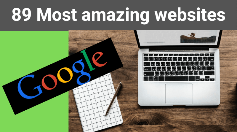 Most amazing websites on the internet