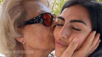 Lutto per Giulia Salemi: è morto lo zio, il sostegno alla nonna adorata