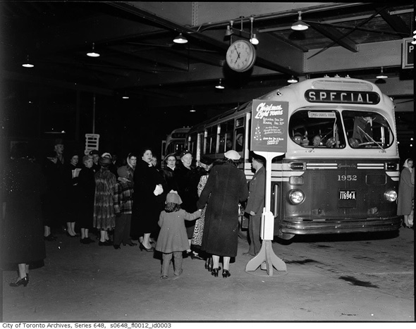 Vintage Christmas photographs from the Toronto Archives