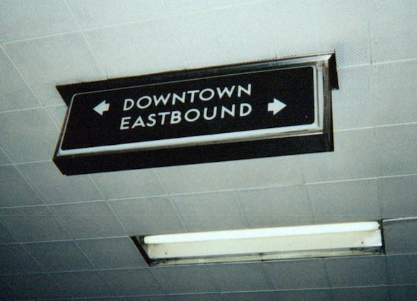 lower bay station sign toronto