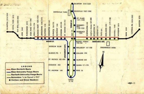 toronto subway ttc