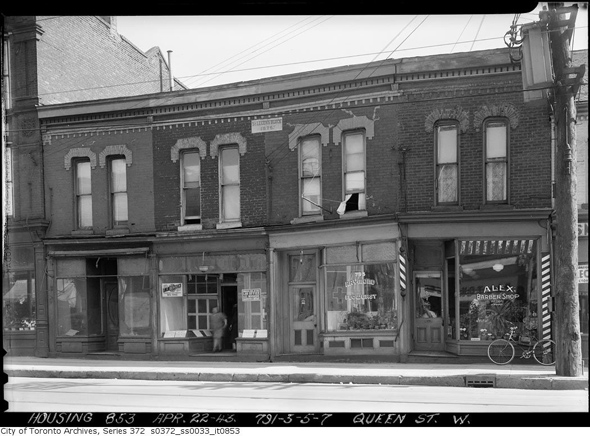 History Queen West Toronto photos