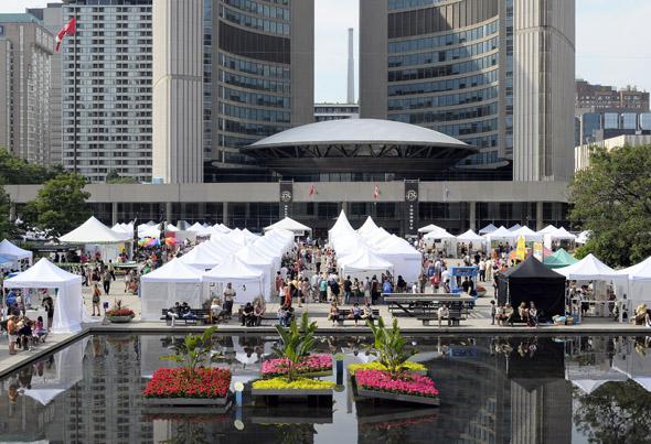 Toronto Outdoor Art Exhibition 2012