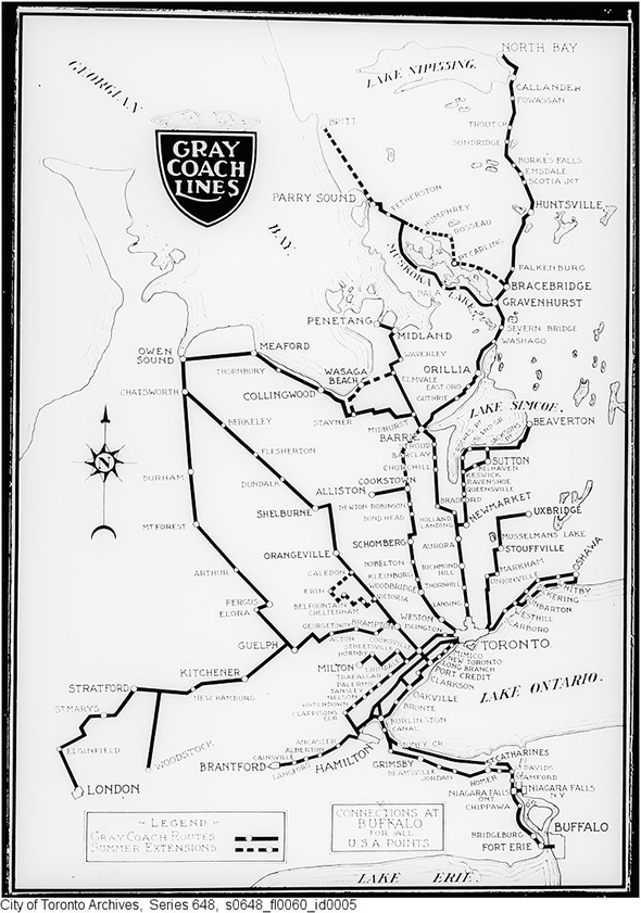 Toronto's News: That time when the TTC went to Niagara Falls
