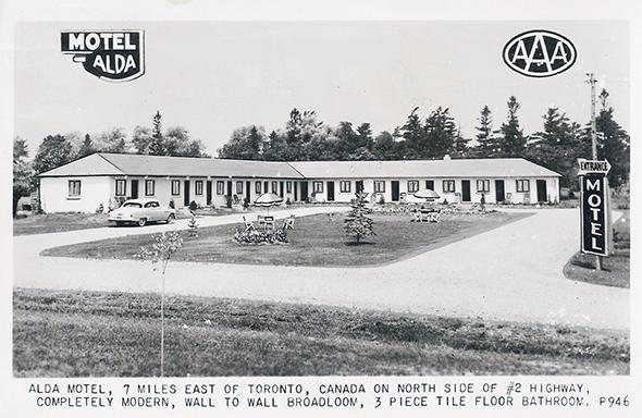 Motel in toronto