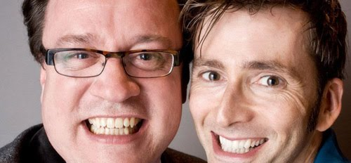 Russell T Davies and David Tennant