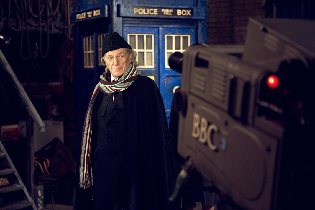 David Bradley as William Hartnell in An Adventure in Space and Time (c) BBC Studios Doctor Who First Doctor