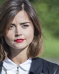Jenna Coleman 'Doctor Who' TV show on set filming, Cardiff, Wales, Britain - 11 May 2015 - Photo by Tracey Paddison/REX_Shutterstock