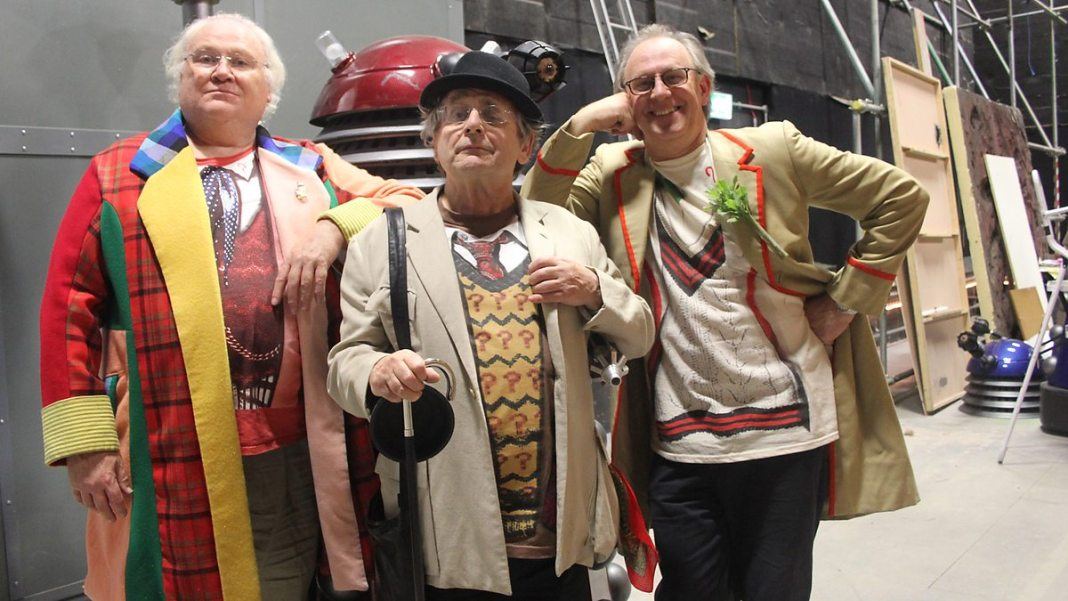 Colin Baker, Sylvester McCoy and Peter Davison - The Five(ish) Doctors Rebbot