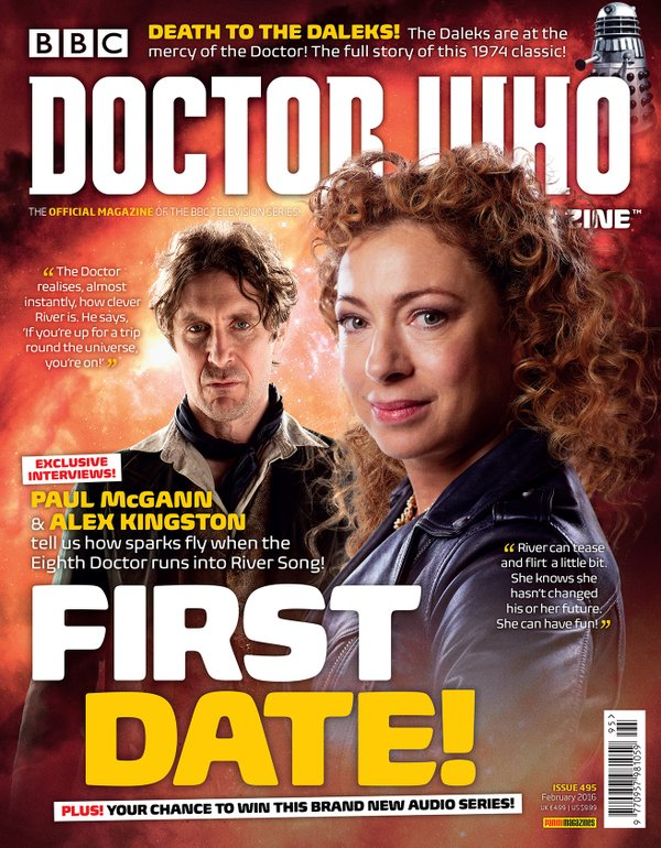 Cover - Doctor Who Magazine Issue 495