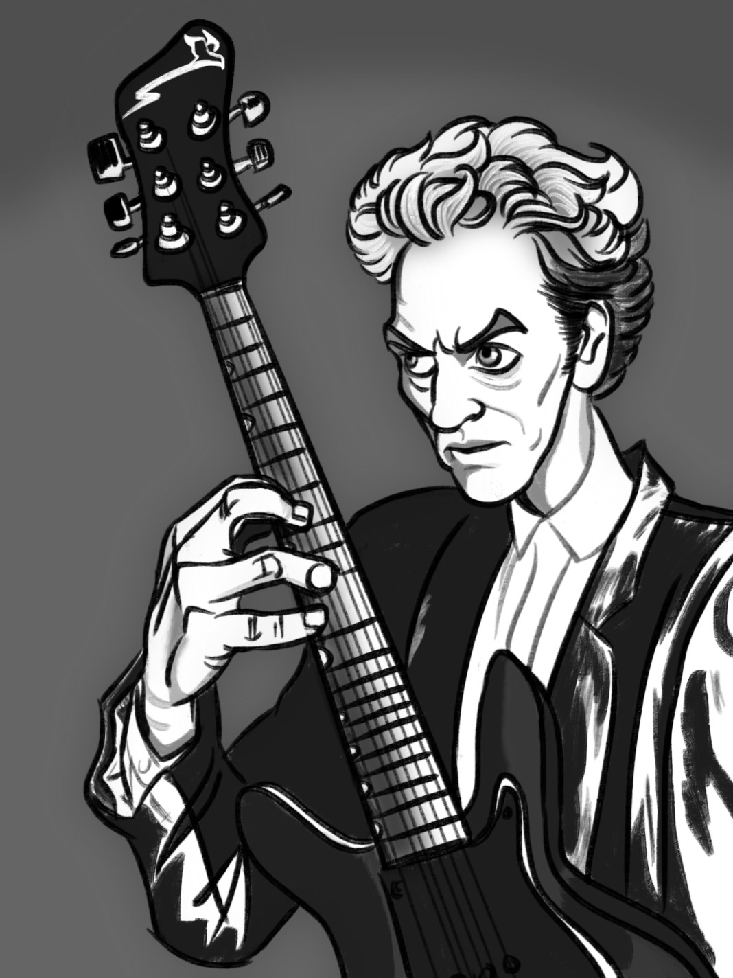 Peter Capaldi by Lucy Crewe